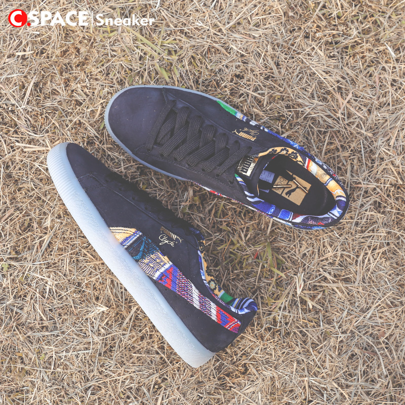 huge selection of caf11 3ecfe Cspace}Puma X Coogi Clyde Sweater Black Rainbow Sweater ...