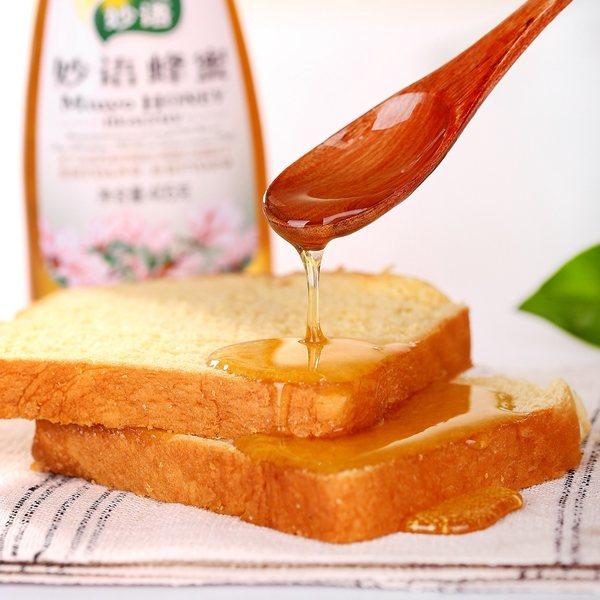 妙语 洋槐山花蜂蜜 405g*3瓶 优惠券折后¥28.8包邮(¥48.8-20)
