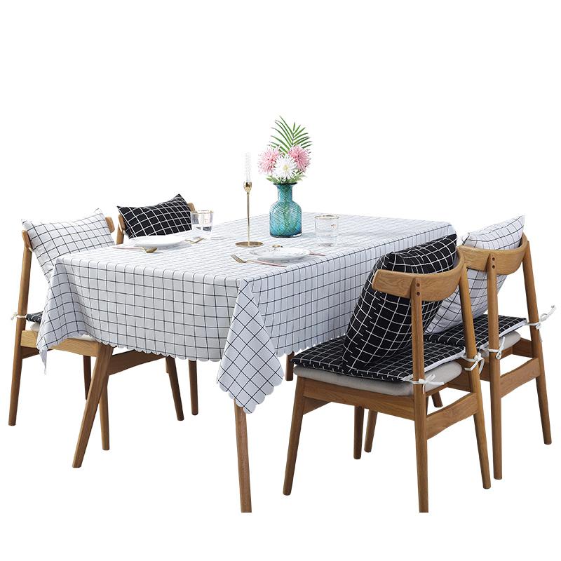餐桌布防水防油免洗北欧茶几桌布桌垫茶几垫pvc圆桌桌布ins台布