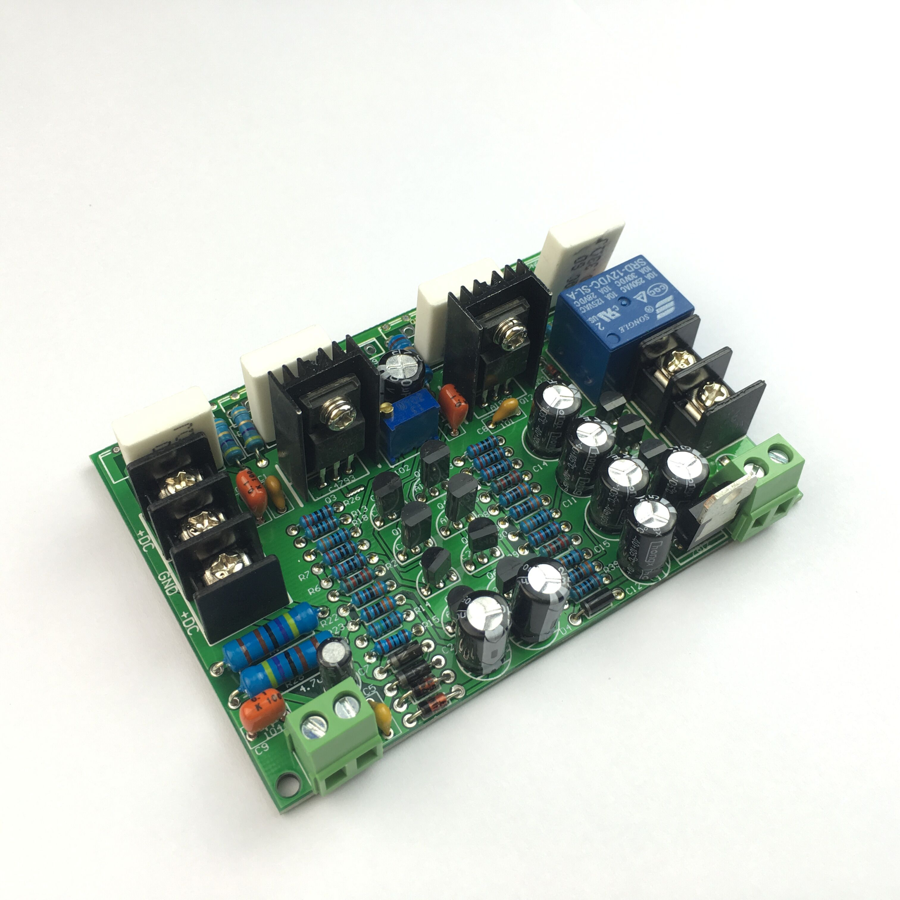 Fever 52001943 Toshiba Tube High Power Amplifier Board Discrete Components Post Stage 200w