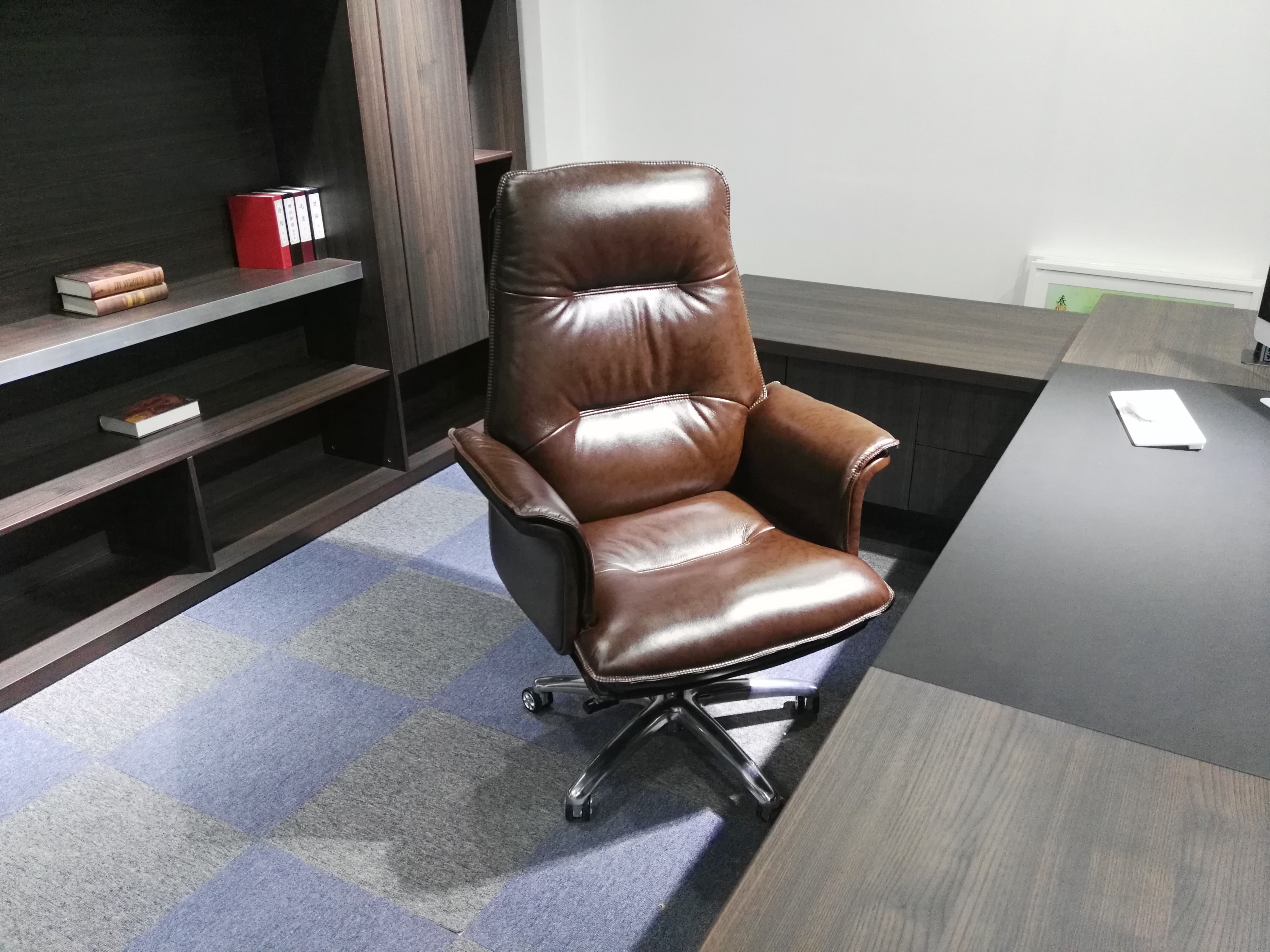 Usd 133 39 Leather Boss Chair Big Office Chair Computer