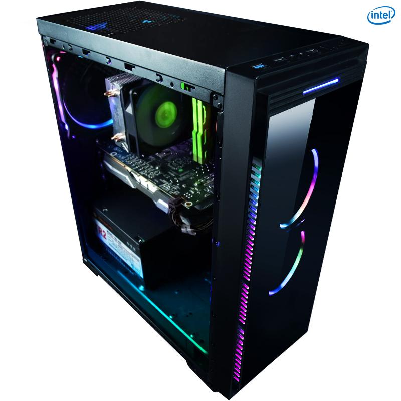 名龙堂i7 7700 GTX1060 6G台式电脑主机DIY吃鸡高端游戏组装机