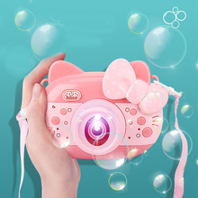 吹泡泡机照相机儿童玩具电动音乐全自动泡泡枪抖音同款网红少女心