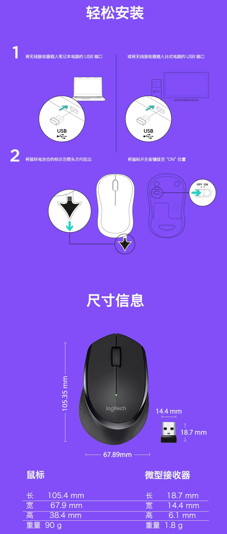 Categorywireless Mouseproductnamelogitech M275 Wireless Mouse Logitec M280 Optical Whether Boxed Genuine Yes