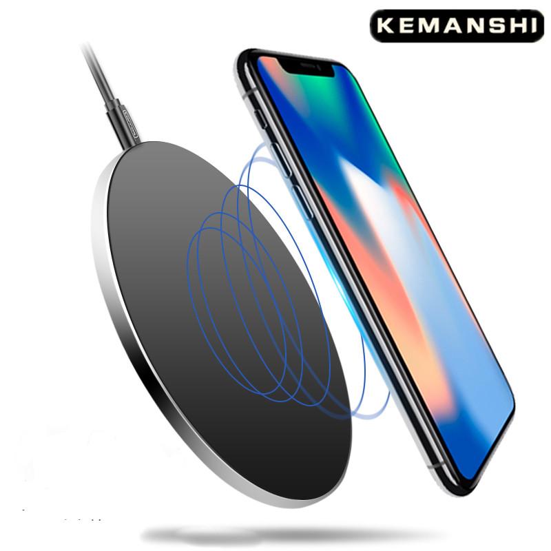 苹果无线充电器iphone8plus快充x小米三星安卓通用万能原装正品QI