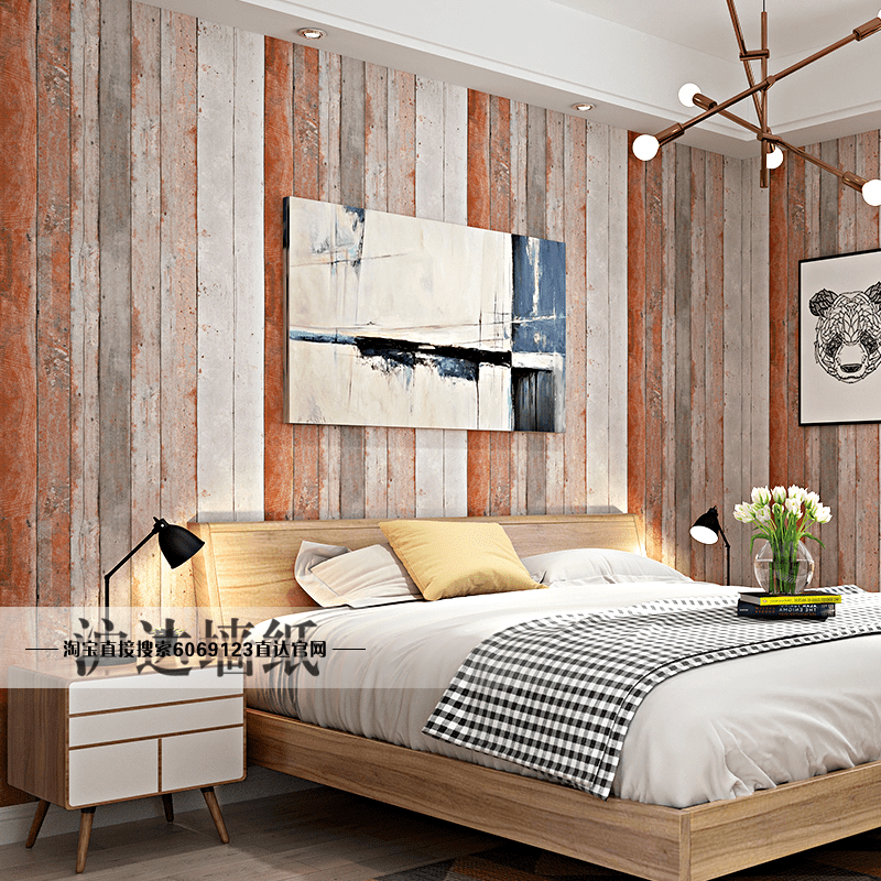 Usd 94 55 Nordic Style Retro Nostalgic Imitation Wood Wood