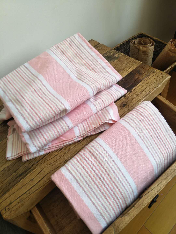 【刘大姐家】  小清新粉 纯棉老粗布新品床单   热卖中。。。