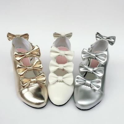 taobao agent Beautiful bow ap custom high-top zipper large size shoes custom slim and ankle boots 6642