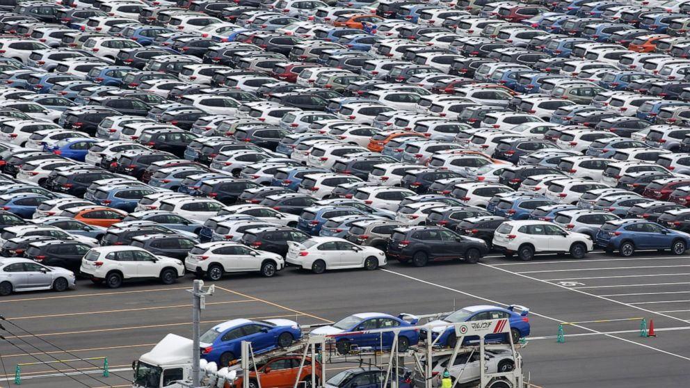 日本3月份的出口下降了11.7%,因冠状病毒大流行使其向美国和中国的汽车出口大幅下滑