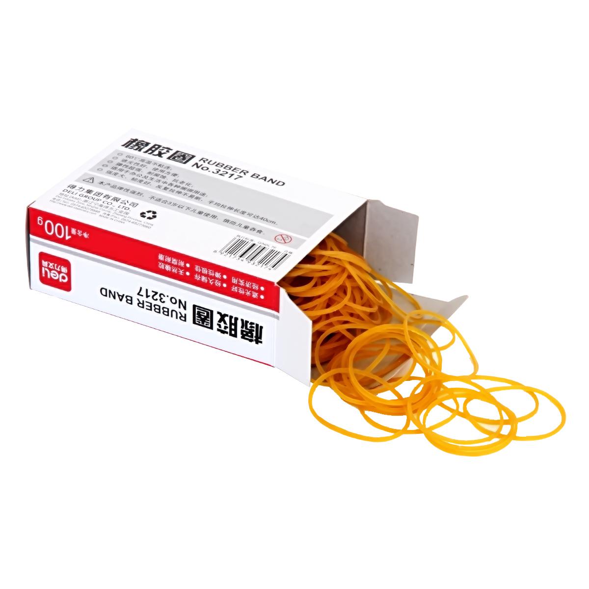 Эффективное резиновое кольцо 3217 (100 г / коробка) Резиновая лента с резиновой лентой хорошая прочность и прочность
