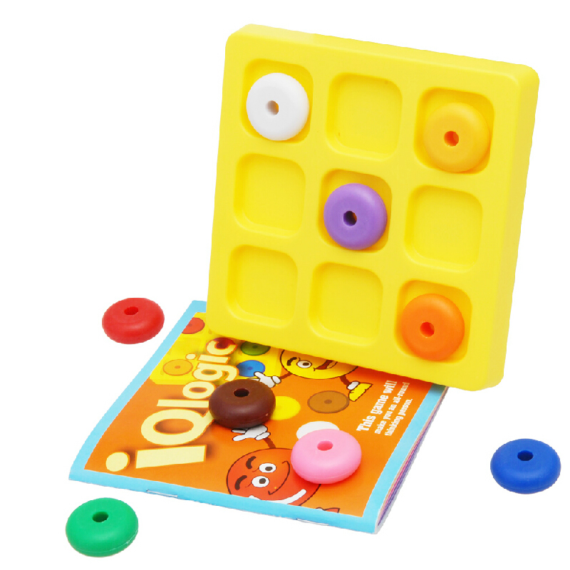 Develop your IQ LOGIC nine color game 3-99 years old milk baby ...