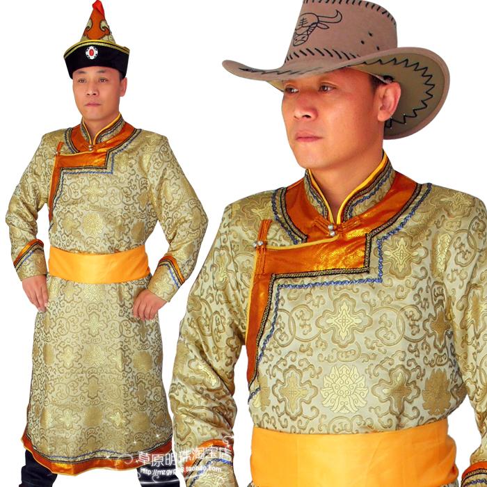 c6708c2c382 New men s Mongolian clothing grassland national costume costume ...