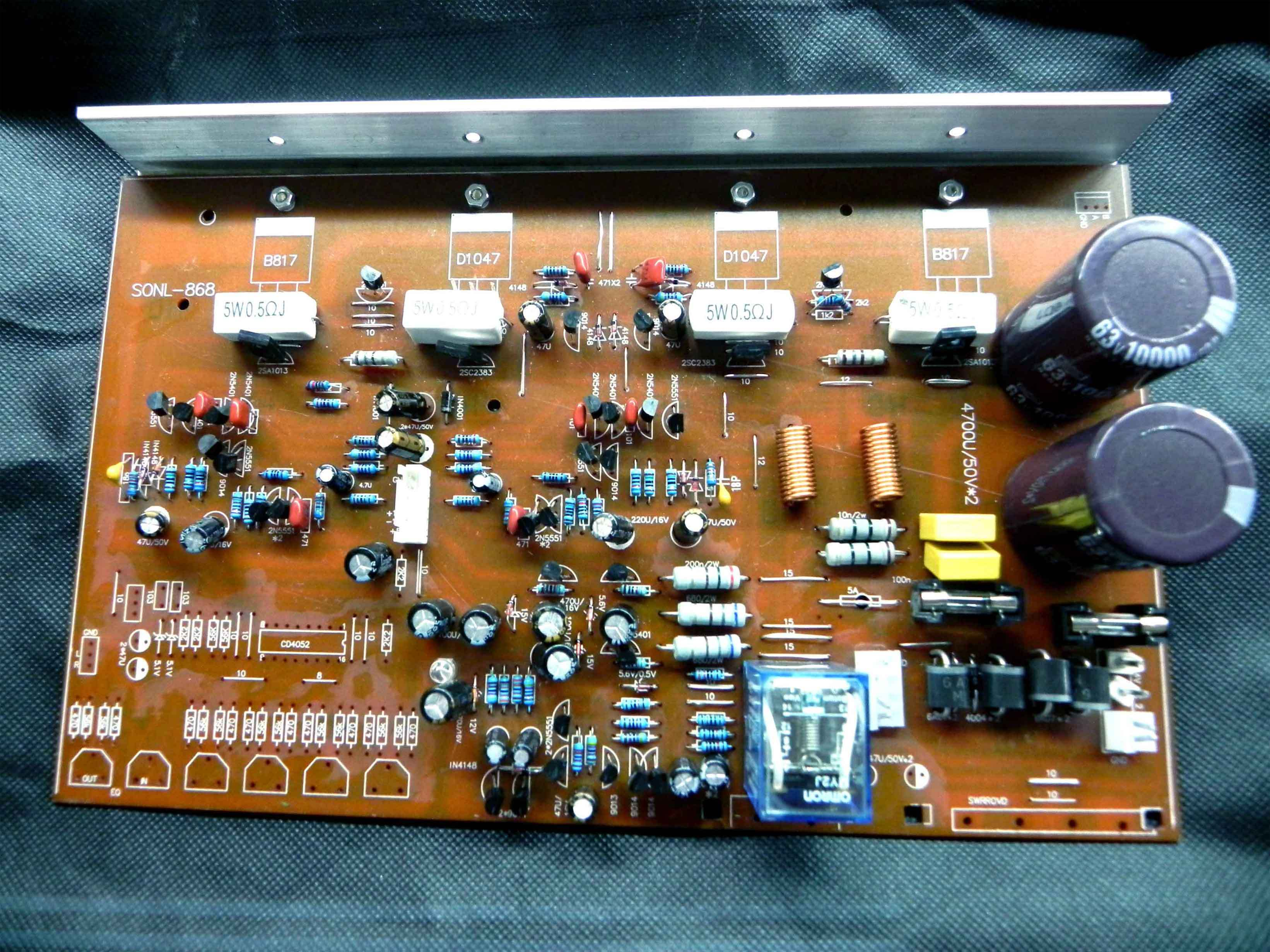 Usd 1895 Ultra Low New Version 150w Original Toshiba B688 To D718 Lm3886 Power Amplifier Four Tube With Omron