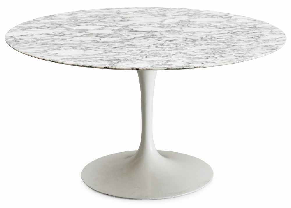 Marble Table Glass Steel Marble Table Tulip Round Table Round Table Can Be  Customized Size