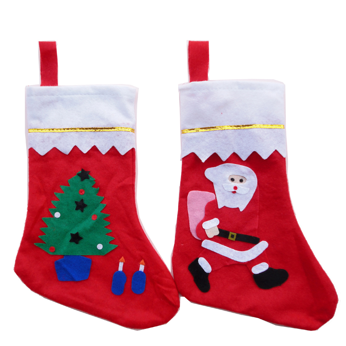 thousands of odd fang christmas christmas decorations socks gift bag gift bag window decoration socks christmas gift bag - Christmas Socks Decoration