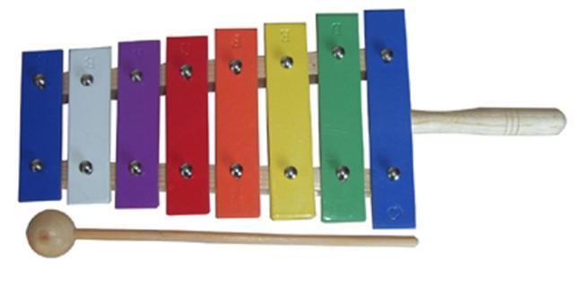 Инструменты Orff Звук Shun цвет Фортепианные