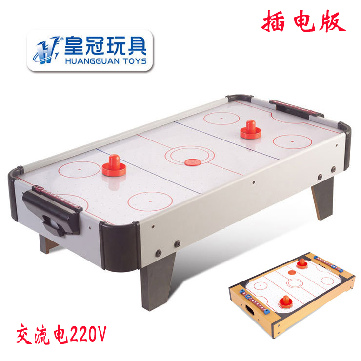 Crown Children Air Table Ice Hockey Table With Electric Suspension Table  Hockey Machine Desktop Ice Hockey ...