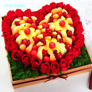 Fruit garden mothers Day send girlfriend fruit bouquet flowers