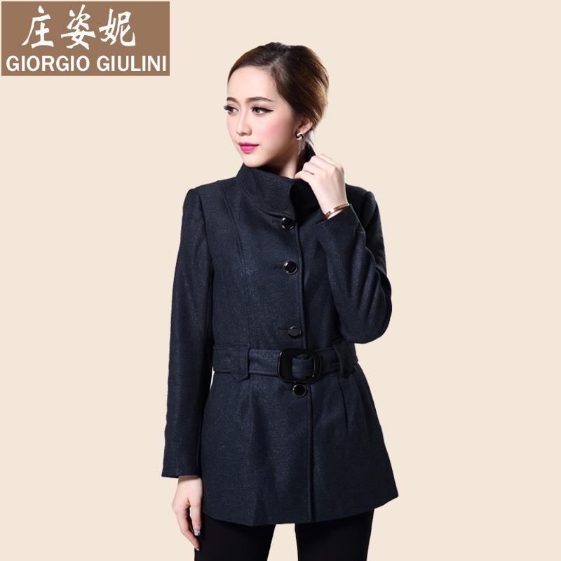 Áo khoác nữ mới của Zhuang Zini phiên bản cổ áo Hàn Quốc trong chiếc áo khoác dài cho nữ mùa xuân và mùa thu vận chuyển đích thực - Trench Coat