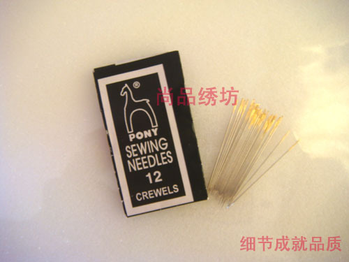 Su вышивка 12 лошадиных брендов Индия импортировала вышивку стрелка Вышивальные инструменты для вышивания