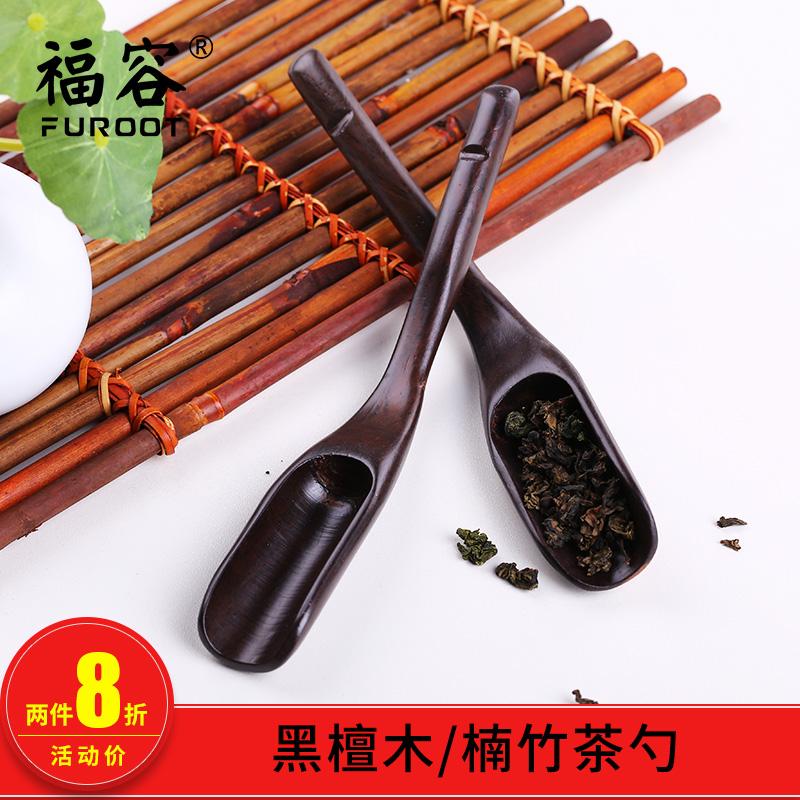 Благословение позволять ebony чай ложка чай ложка бамбук чай лопата чай затем чай ложка усилие чайный сервиз чайная церемония монтаж