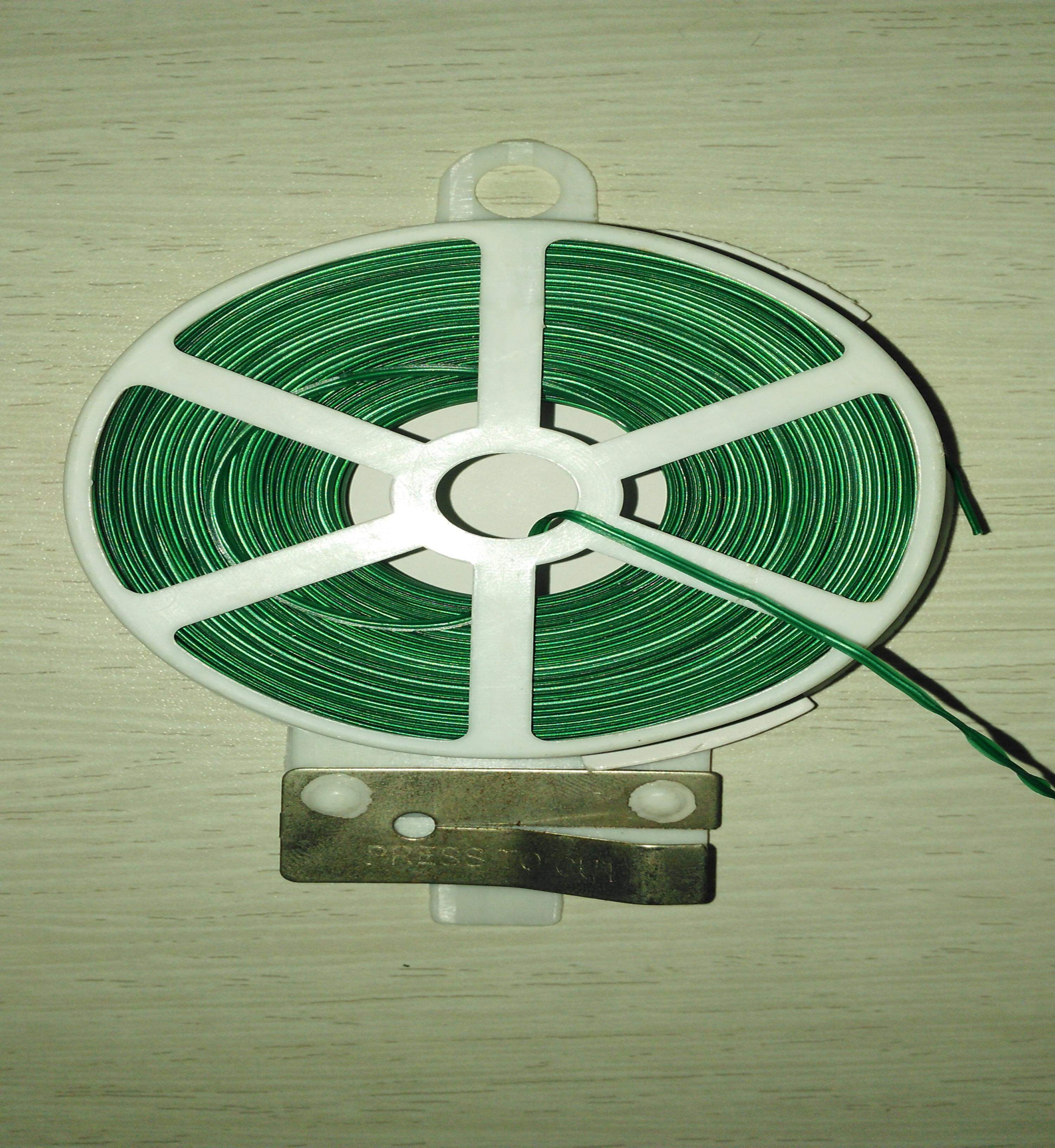 家用包塑扎丝特价黄瓜爬藤类捆绑线葡萄铁丝扎线50米厂家