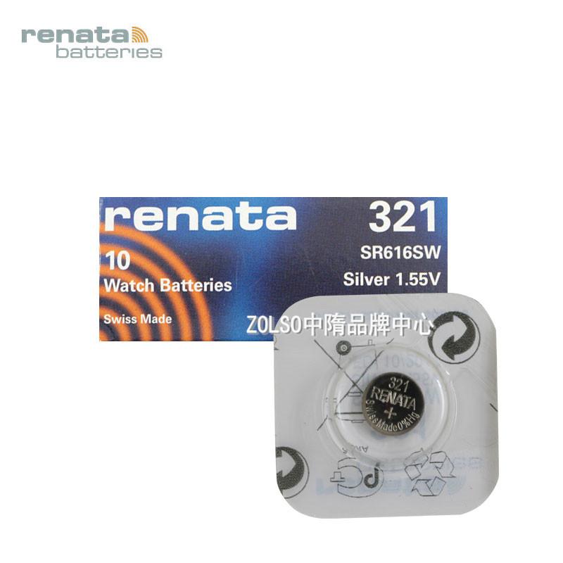 Батарейки-таблетки RENATA  SR616SW 321