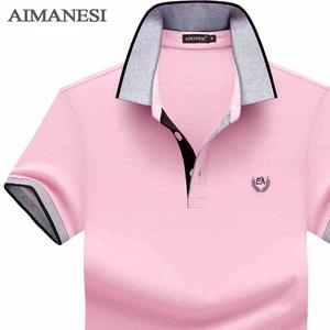 2018 mùa hè ngắn tay T-Shirt nam của mercerized quần áo cotton nam từ bi màu rắn ve áo thanh niên cotton polo áo sơ mi