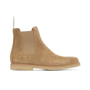 %28Domestic_stock%29_Crown_purchasing_Common_Projects_Tan-colored_suede_Chelsea_boot