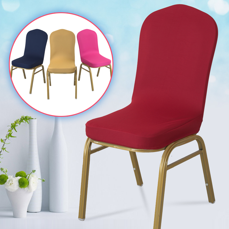 Pleasant Usd 6 00 Dining Chair Cover Elastic Chair Cover Hotel Chair Caraccident5 Cool Chair Designs And Ideas Caraccident5Info
