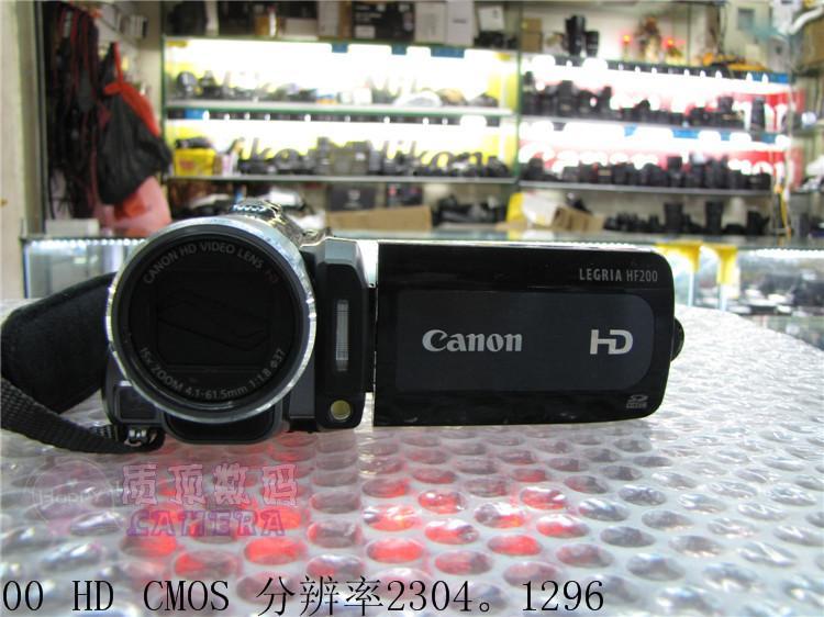 Máy quay video kỹ thuật số 32G HD / Canon HF200 / 20 tích hợp