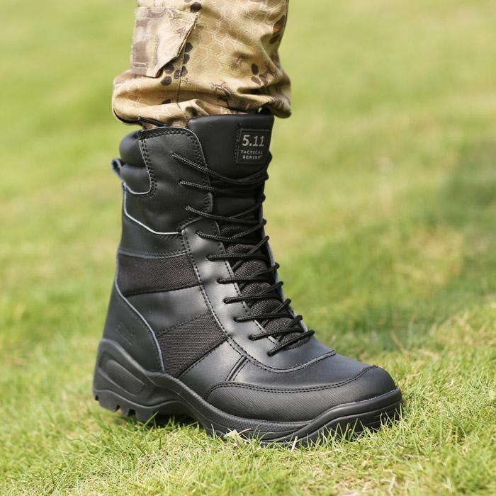 马格南军靴沙漠靴战术靴511 三角洲登山靴作战靴我是特种兵冬靴