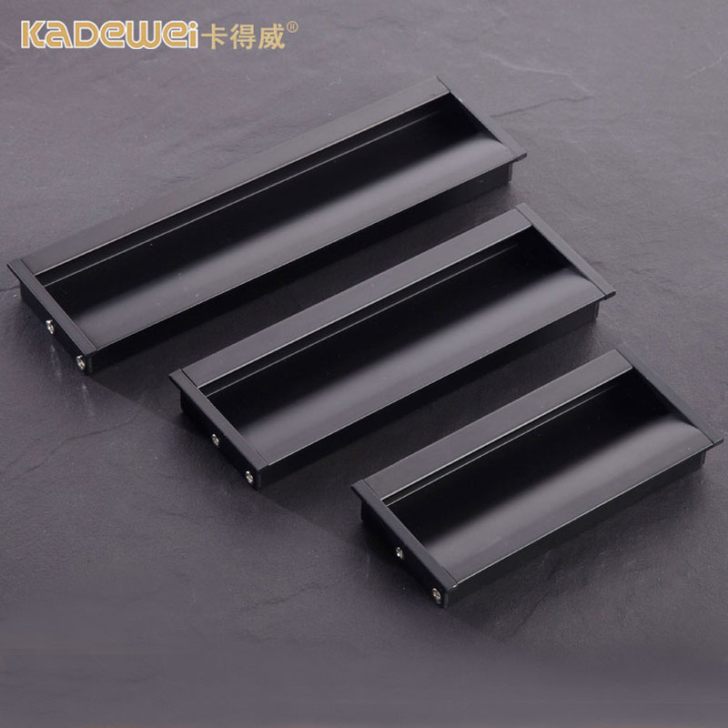 Delicieux Embedded Hidden Black Drawer Doors Dark Loaded Sliding Doors Sliding Door  Handle Tatami Dark Handle Invisible