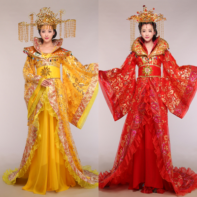 Traditional Chinese costumes Dramaturgic Chinese Ancient princess Costume Hanfu female Dress Han dynasty clothing