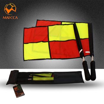 Флажки лайнсмена,  2016 модель MAICCA футбол вырезать приговор край вырезать флаг рука флаг вырезать приговор футбол патруль край флаг команда рука флаг вырезать приговор оборудование, цена 1067 руб