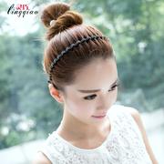 Hàn quốc phiên bản của kim cương hẹp side tóc ban nhạc kẹp tóc thời trang đơn giản mô hình sóng tóc phụ kiện tóc ban nhạc kẹp tóc kẹp tóc lady headband