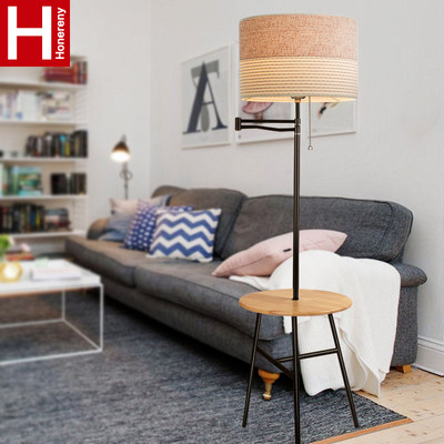 Hong Long Land Living Room Minimalist Modern Tea Stroke Bedroom Creative Sofa Nordic Remote Control Railway Lamp