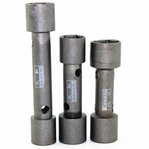 摩托车火花塞套筒 扳手/拆装火花塞工具/两头双用 A7TC D8TC通用