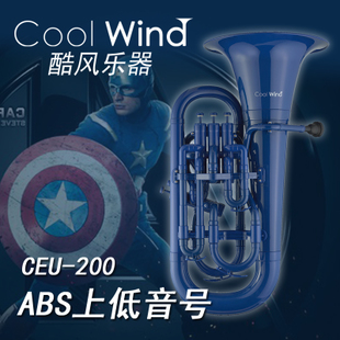 Coolwind cool wind instrument ABS polymer bass number plastic instrument drop b low