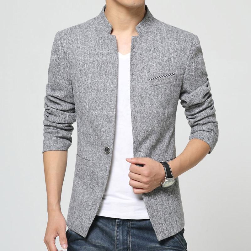 2017秋季新款男士休闲小西装修身韩版潮流帅气西服男外套单件上衣