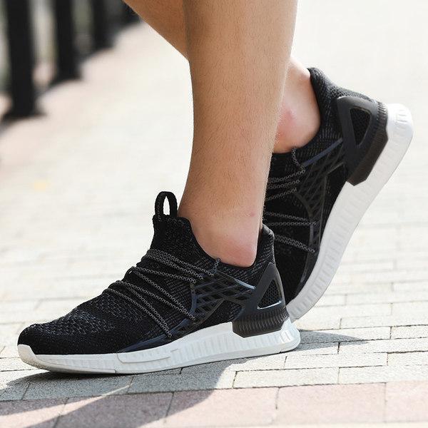 Sprandi 斯潘迪 一体飞织轻便透气 男式跑步鞋 天猫优惠券折后¥199包邮(¥399-200) 3色可选
