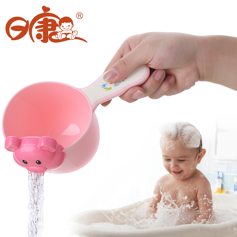 USD 10.97] Day health water spoon baby shower water scoop baby bath ...