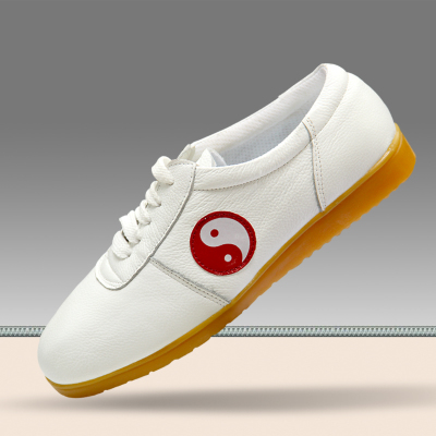 Tai Chi shoes, soft cowhide, beef tendon bottom, breathable soft bottom Taijiquan shoes, training shoes, men's and women's martial arts shoes.