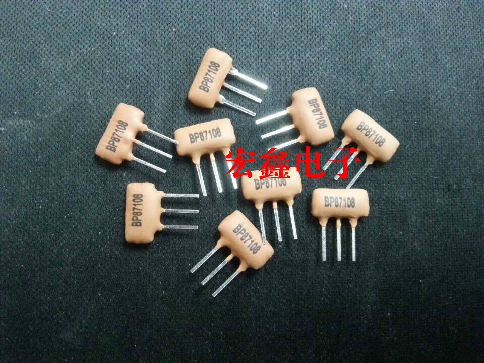 BP87108M high frequency band pass filter ceramic resonator 87-108