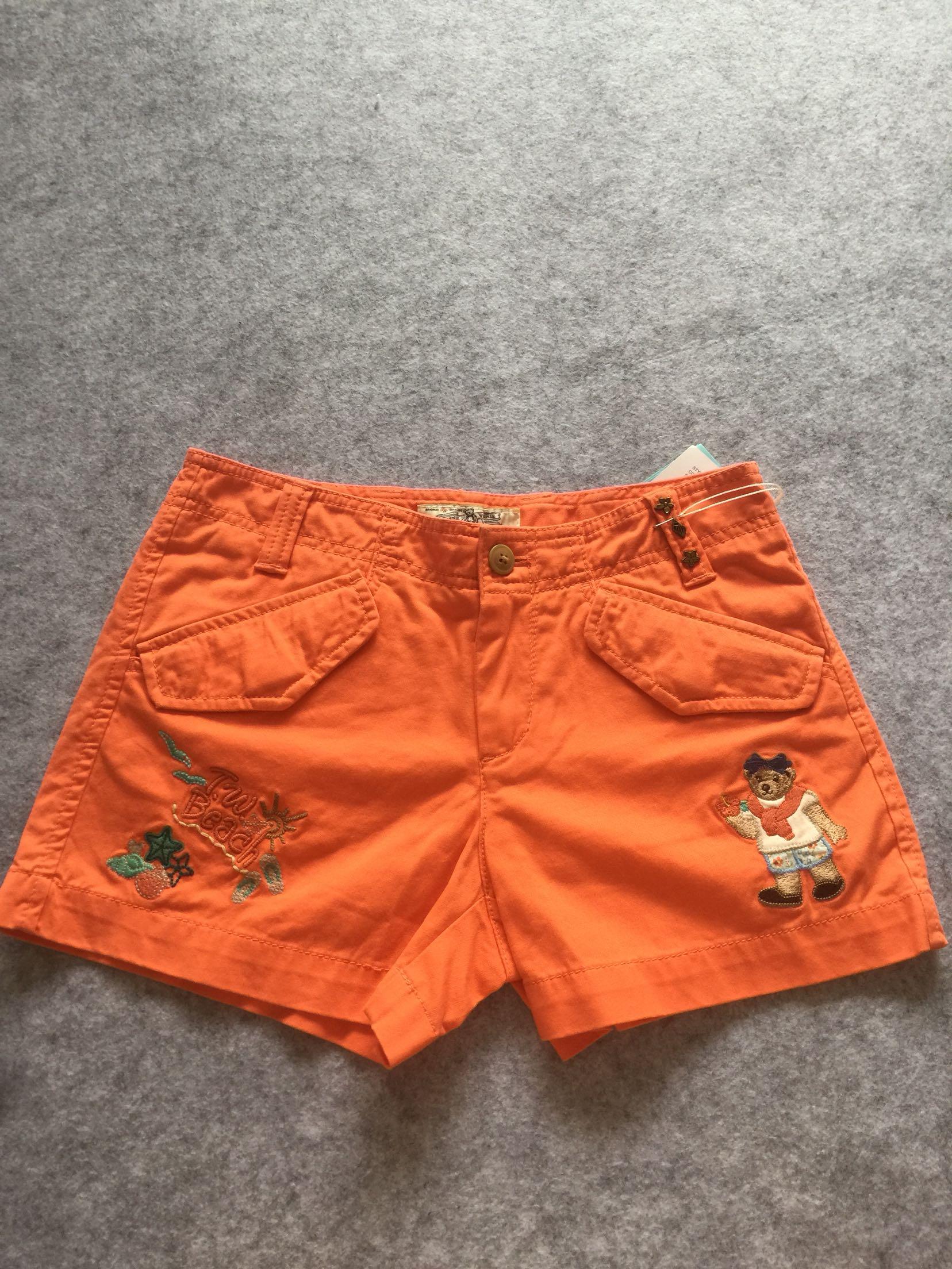 代购小熊TEENIEweenie女士短裤ttth43702a-00
