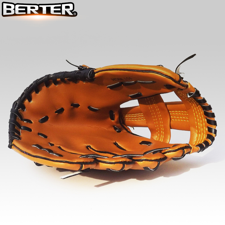 Литье рука бейсбол перчатки 9.5 10.5 11.5 дюймовый ребенок молодой мужской и женщины сын для взрослых полная сумма