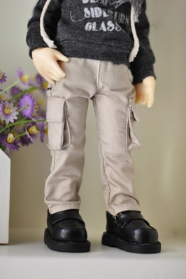 taobao agent M3/sd doll/bjd baby clothes men's leather pants washed jeans shorts 70cm3 points 4 points spot MMP240