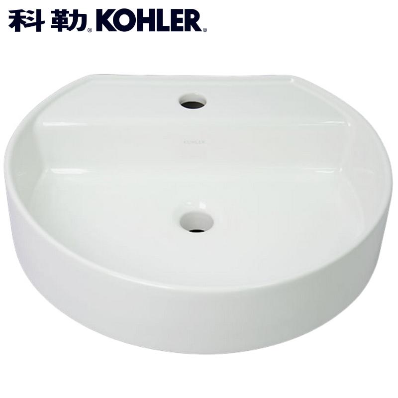 科勒欧式圆形台上盆先脸盆K-2331T-1-0柯德台上洗手盆艺术陶瓷盆