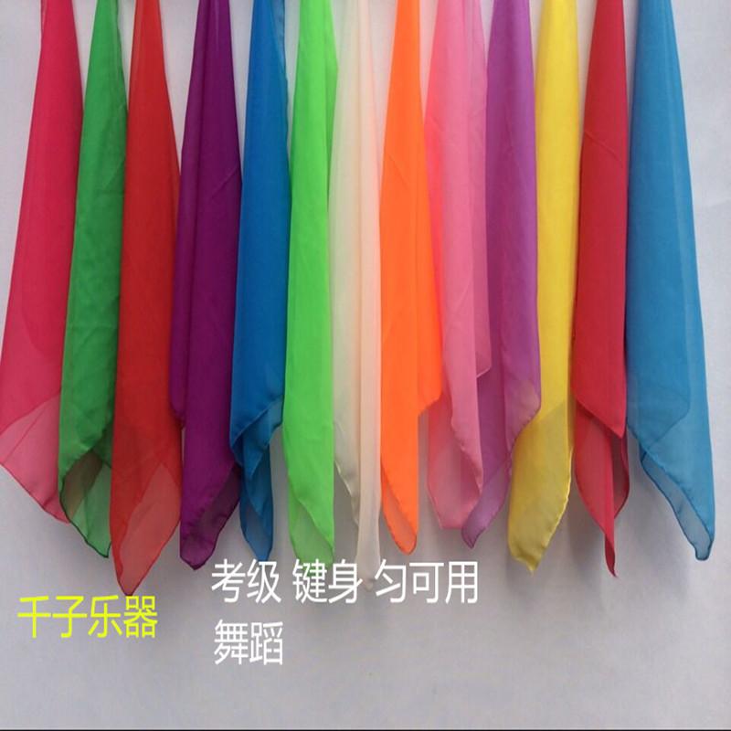 10 полосатый бесплатная доставка по китаю Шарф для взрослых шарф для взрослых детские Испытывает ровную silk танцульку полотенца руки марли носового платка для того чтобы выполнить упорку этапа winsomely