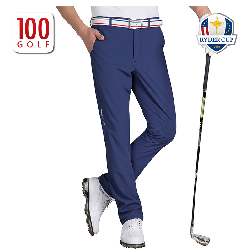 d55f86dc20a RC Ryder Cup Golf Men s quick-drying golf trousers slim golf clothing pants  summer New